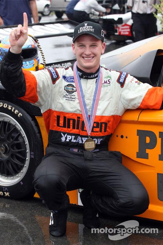 Le vainqueur de la course Michael McDowell