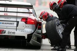 Entraînement d'arrêt au stand chez Audi