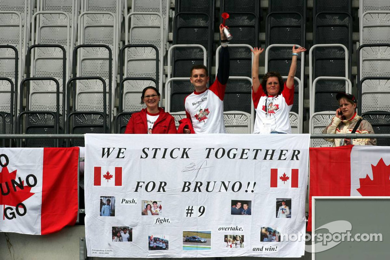Invasion canadienne: des fans de Bruno Spengler