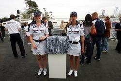 Visit of BMW Sauber F1 team Pitlane Park