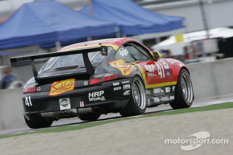 #41 Team Sahlen Porsche GT3 Cup: Eric Lux, Charles Espenlaub