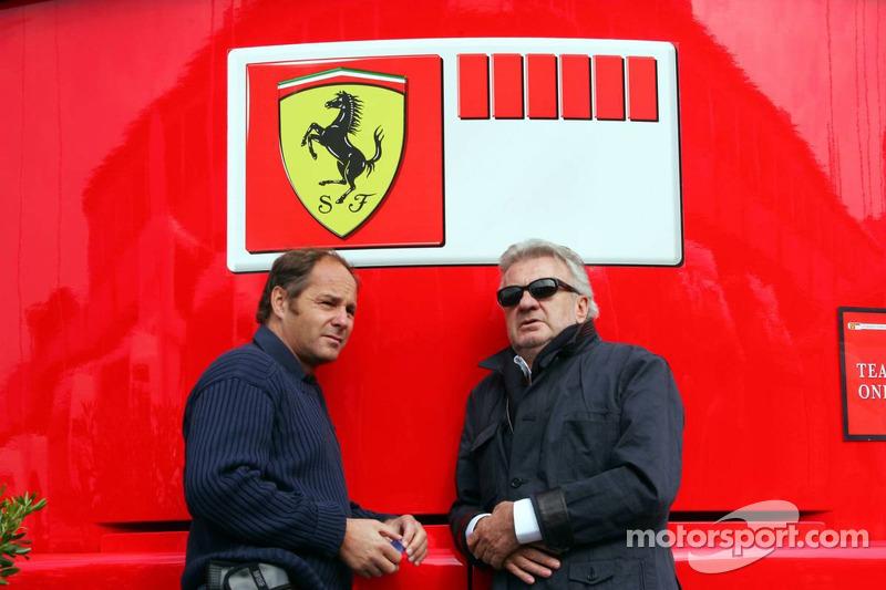 Gerhard Berger et Willi Weber