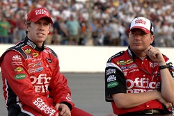 Carl Edwards and crew chief Wally Brown