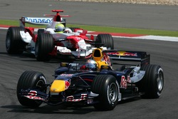 David Coulthard leads Ralf Schumacher