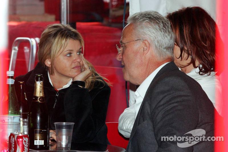 Corina Schumacher, Rolf Schumacher et Barbara Stahl