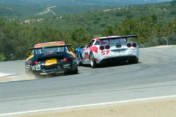 #14 slips under #57 at the top of the corkscrew