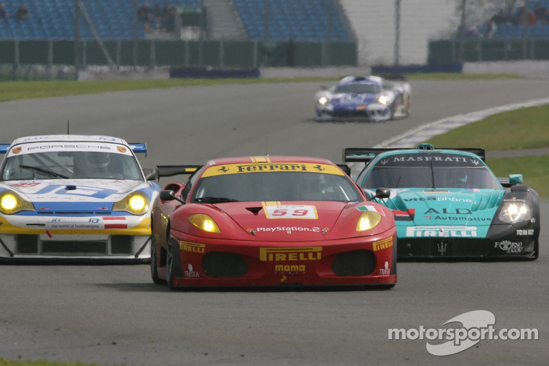 #59 AF Corse Ferrari 430 GT2: Mika Salo, Rui Aguas