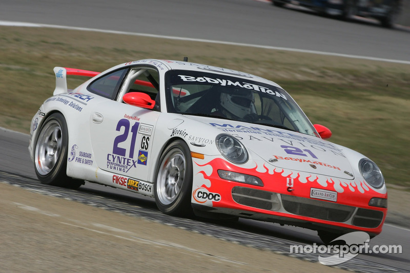 #21 Bodymotion Racing Porsche 997: Michael Bavaro, Shawn Price