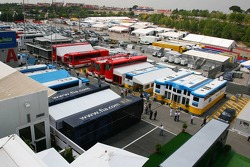 Paddock at Circuit de Catalunya
