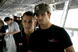 Christian Klien and Vitantonio Liuzzi