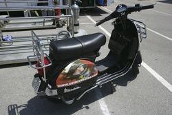 Ernesto Viso scooter