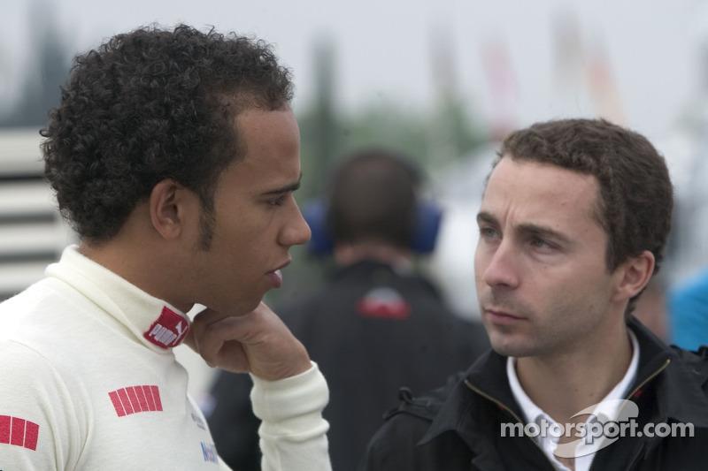 Lewis Hamilton et Nicolas Todt