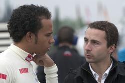 Lewis Hamilton and Nicolas Todt