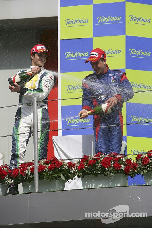 Ernesto Viso premier, Nelson A. Piquet deuxième