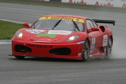 #34 JMB Racing Ferrari Ferrari 430 Challenge: Allan Simonsen, Hector Lester