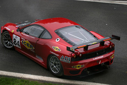#84 Team Icer Brakes Ferrari F430 GT: Jesus Diez Villarroel is out on the first lap