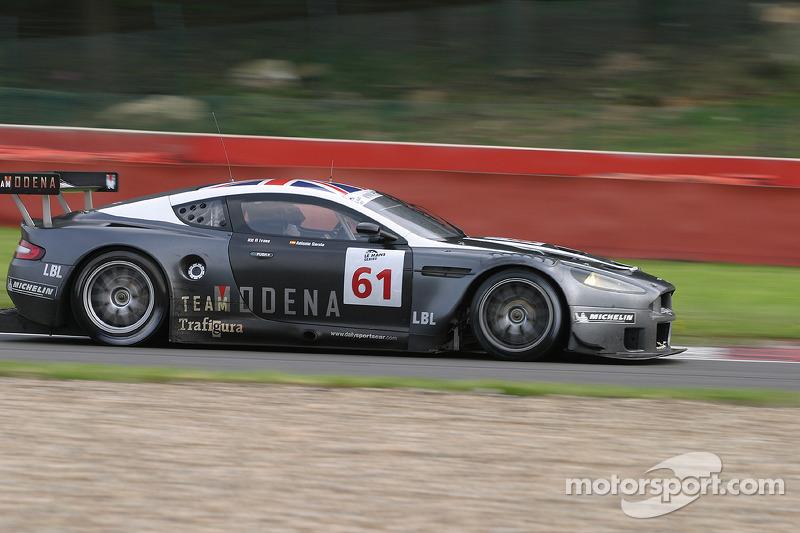Les Fagnes - #61 Cirtek Motorsport Aston Martin DBR9: Antonio Garcia