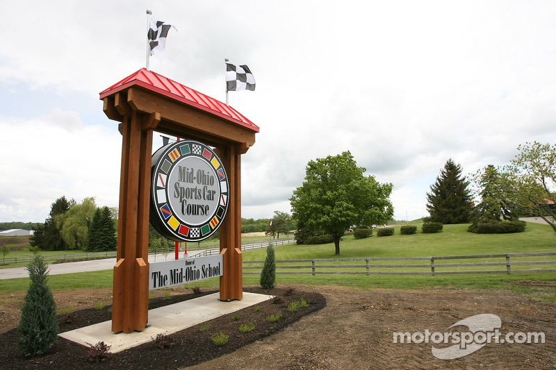 Bienvenue au Mid-Ohio Sports Car Course