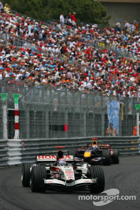 Rubens Barrichello y David Coulthard
