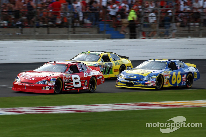 Dale Earnhardt Jr., Jeff Green, Matt Kenseth