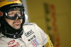 A Corvette Racing team member