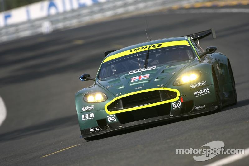 #009 Aston Martin Racing Aston Martin DB9: Pedro Lamy, Stéphane Sarrazin, Stéphane Ortelli