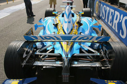Close up of Renault R26