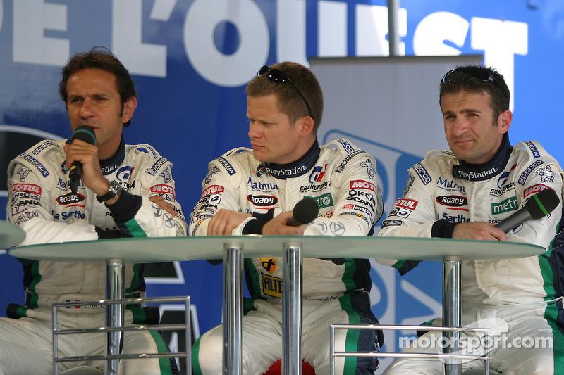 Erik Comas, Emmanuel Collard et Nicolas Minassian