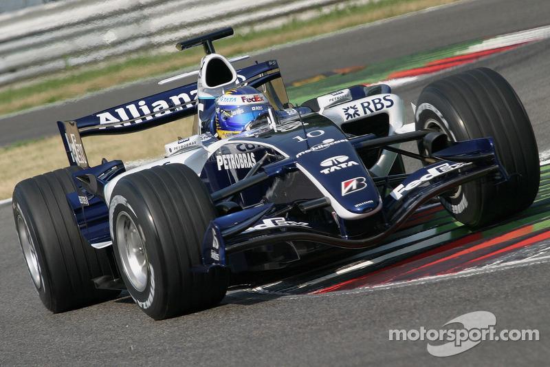 2006 год: Нико Росберг, Williams FW28 Cosworth