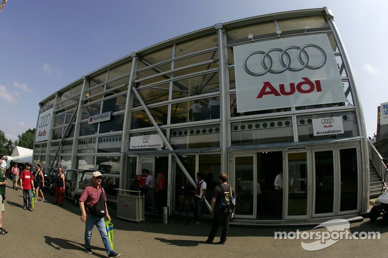 Les hospitalités de Audi Sport