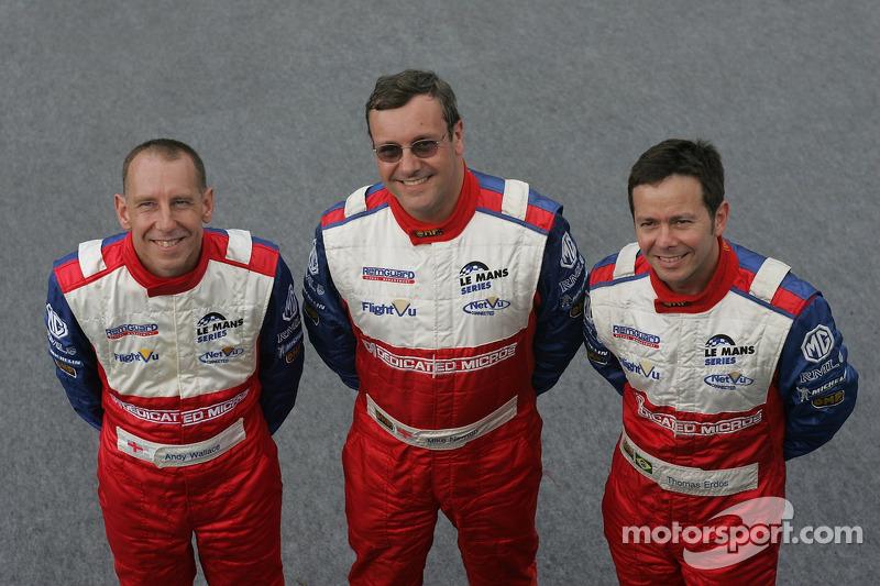 Thomas Erdos, Mike Newton, et Andy Wallace