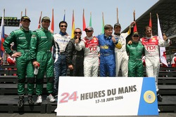 The Italian drivers for the 2006 edition of the 24 Hours of Le Mans