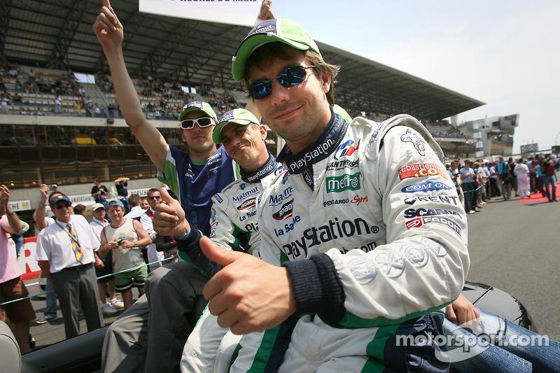 Franck Montagny, Eric Hélary et Sébastien Loeb