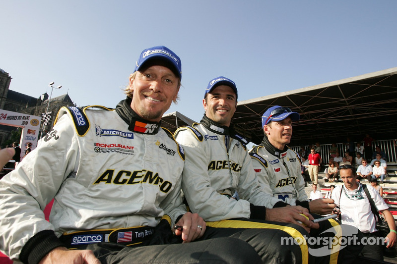 Terry Borcheller, Christian Fittipaldi et Johnny Mowlem