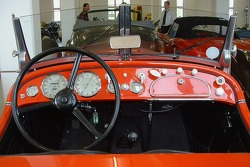 The dash of a BMW 328