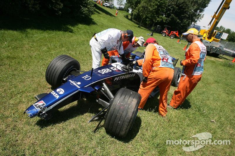 La Williams de Nico Rosberg