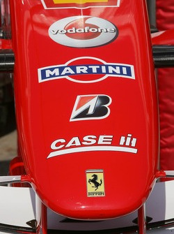 Scuderia Ferrari nose cone, with