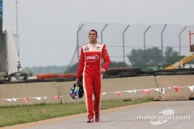 Justin Wilson out of the race