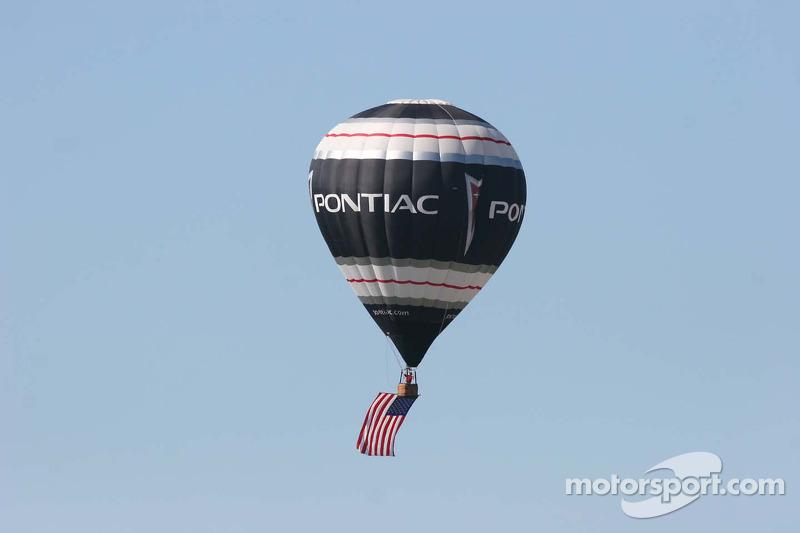 Une montgolfière