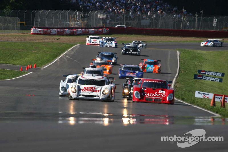 #23 Alex Job Racing/ Emory Motorsports Porsche Crawford: Mike Rockenfeller, Patrick Long et #99 Gain