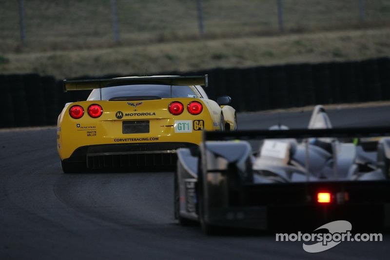 #64 Corvette Racing Corvette C6-R: Olivier Gavin, Olivier Beretta, Jan Magnussen
