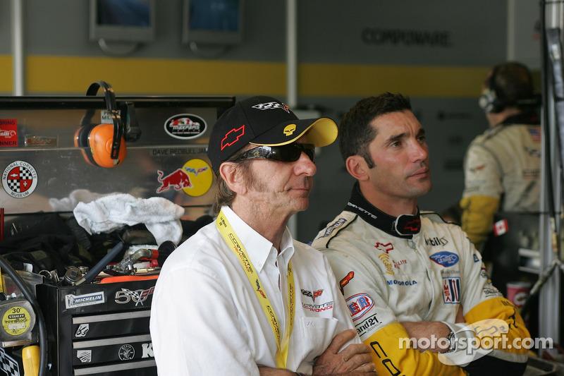 Max Papis et Emerson Fittipaldi