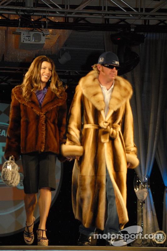 Michelle et Buddy Rice
