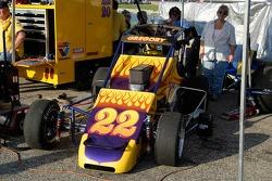 La voiture de Ron Gregory est prête