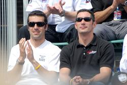 Dario Franchitti and Max Papis