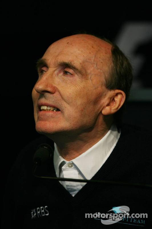 Conférence de presse de la FIA le vendredi : Sir Frank Williams