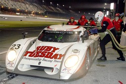 Pitstop for #23 Alex Job Racing/ Emory Motorsports Porsche Crawford: Mike Rockenfeller, Patrick Long