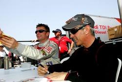 Allan McNish and Rinaldo Capello