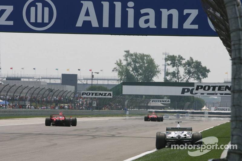 La voiture de Jacques Villeneuve après sa retraite