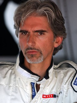 Damon Hill was invited by Mercedes Benz to drive in a AMG-Mercedes C-Klasse with invited guests